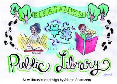 New Library Card Design